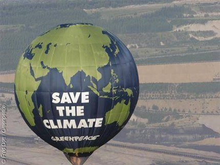 Save the planet from global warming